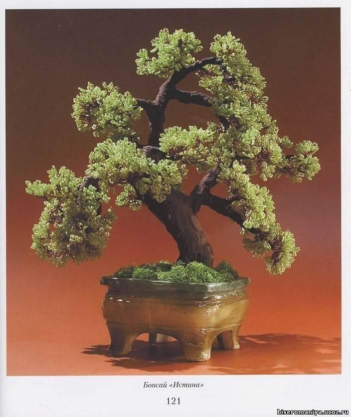 Пятнадцатая иллюстрация к книге Цветы и деревья из бисера - Елена Стольная.